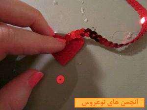 image آموزش جدید درست کردن گوشواره زنجیر و پر تصویری
