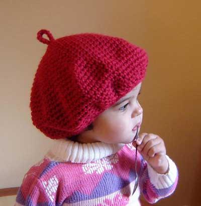 image مدل های زیبای کلاه بافتنی رنگی برای نوزاد