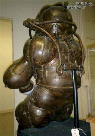 image آیا ۱۰۰ سال پیش لباس غواصی بوده است