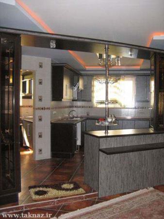 image مدل های جدید کابینت آشپزخانه