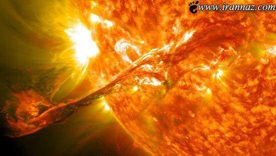 image, عکسی خارق العاده از یک انفجار خورشیدی