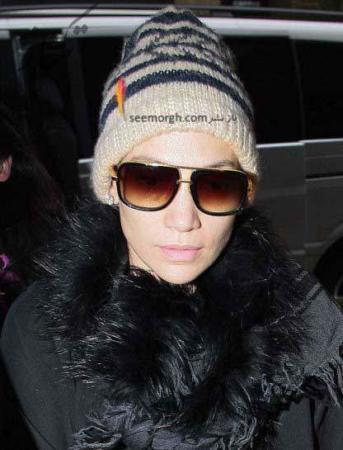 عکس, مدل های لباس های زمستانی جنیفر لوپز 2013
