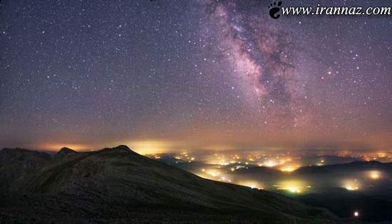 image عکس دیدنی از کهکشان راه شیری توسط رصدخانه گریینویچ انگلیس