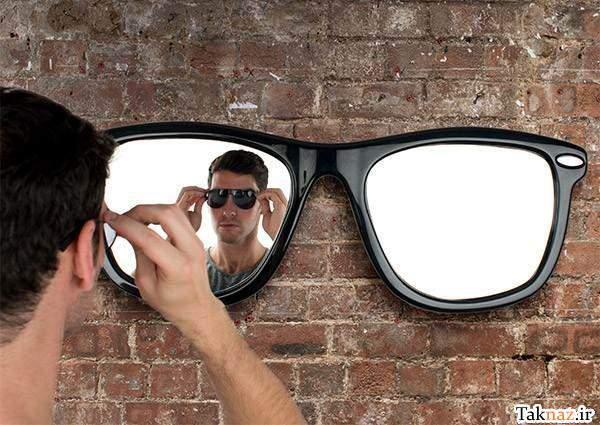 image یک مدل جدید و شیک برای آینه دیواری