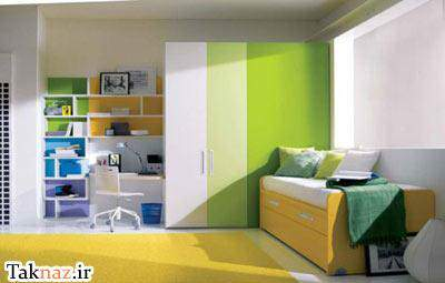 image راهنمای تصویری دکور و چیدمان اتاق خواب جدید