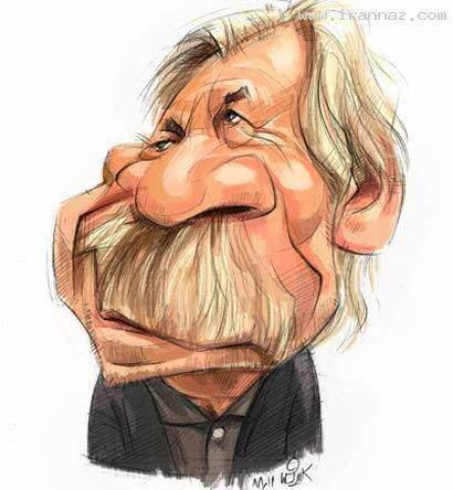 image کاریکاتورهای بامزه از افراد معروف و سرشناس