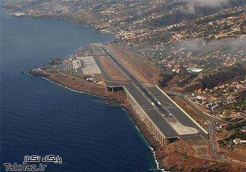 image گزارش تصویری از ساخت یک فرودگاه واقعی بر روی یک دره ترسناک