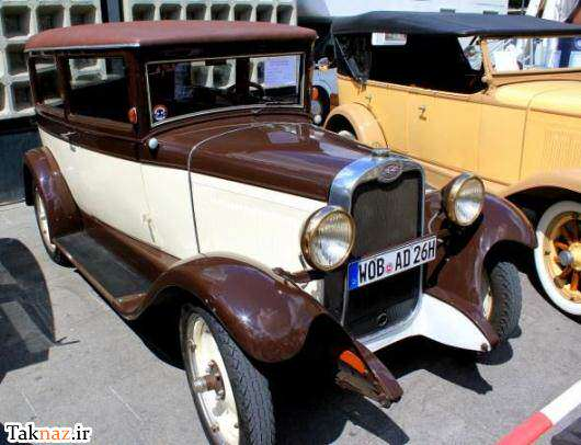 image گزارش تصویری بسیار جالب از نمایشگاه ماشین های کلاسیک