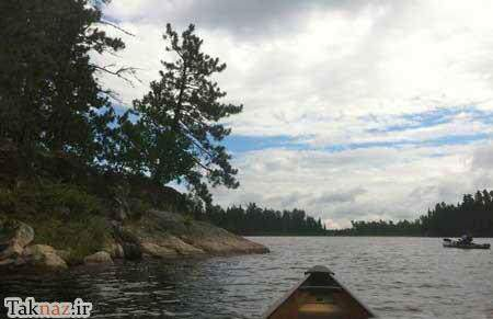 image عکس های دیدنی سرزمین های رویایی دریا و رودخانه آبی