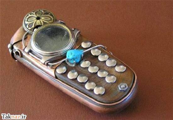 image عکس های دیدنی از یک مدل عجیب وغریب تلفن همراه در جهان
