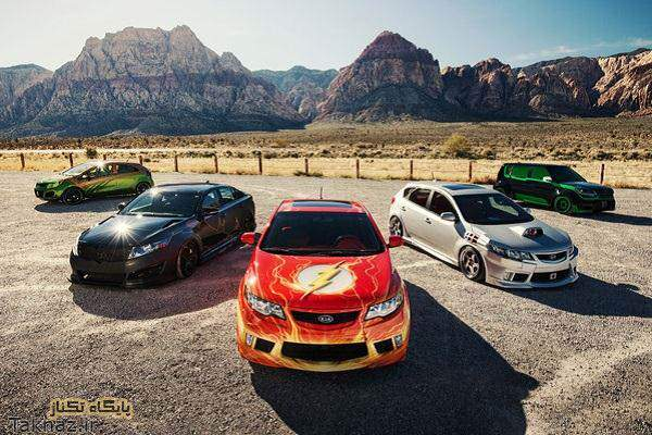 image عکس ماشین های جدید در نماشگاه خودرو سما