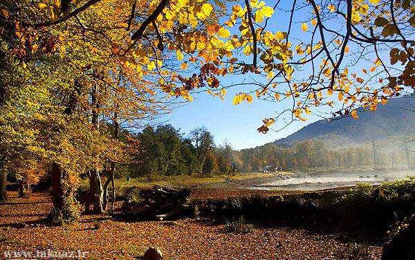 image بی نظیرترین تصاویر از دریاچه چورت در استان مازندران