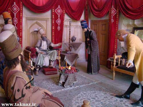 image قصه پند آموز کریم خان زند و درویش فقیر در باغ