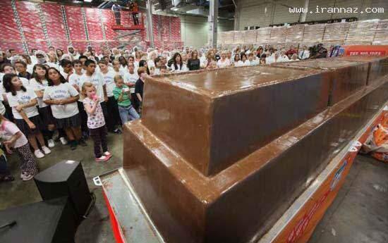 image, عکس بزرگترین شکلات جهان کتاب رکوردهای گینس ۲۰۱۲