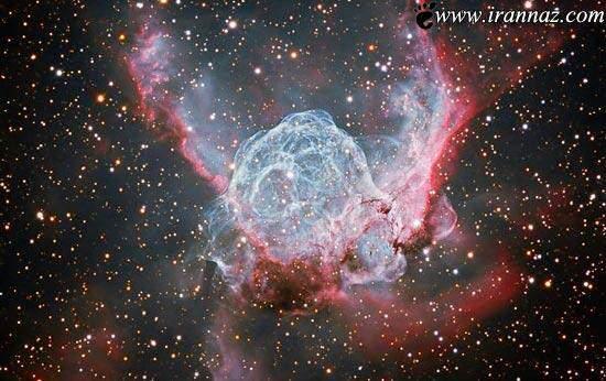 image عکس فضایی مجموعه ای از ستاره ها در فاصله ۱۵هزار سال نوری از زمین