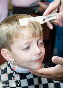 image آموزش عکس به عکس کوتاه کردن موی پسر بچه در خانه