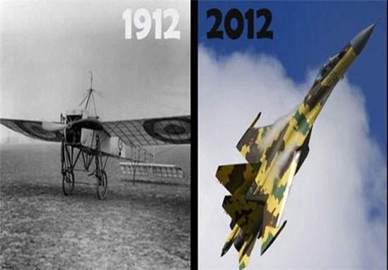image تصاویر تغییرات دنیا از صد سال پیش تا امروز