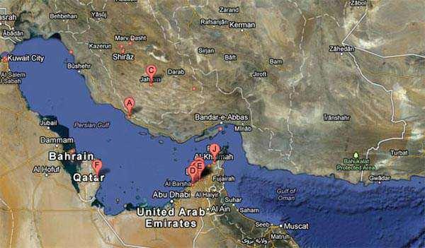 image عکس دیدنی از تغییر نام خلیج فارس در نقشه های گوگل