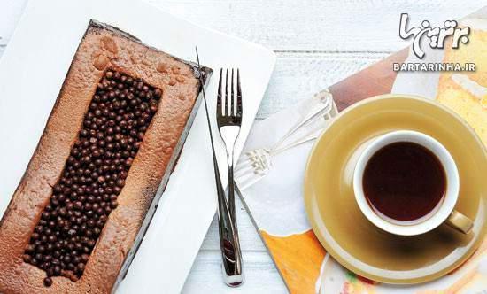 image آموزش تهیه دسر خوشمزه پاناکوتای شکلاتى در خانه
