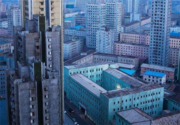 image, تصویری از شهر پیونگ یانگ پایتخت کره شمالی