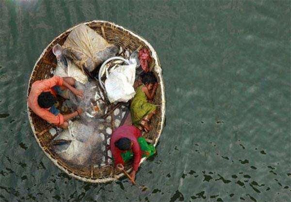 image ماهیگیری یک خانواده هندی
