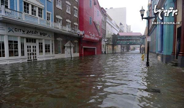image گزارش تصویری فاجعه بار ترین طوفان در نیویورک