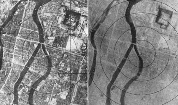 image عکس های تلخ هیروشیما بعد از بمباران شیمیایی