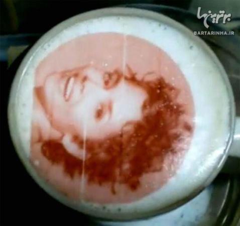 image تصاویر خلق آثار هنری بی نظیر با قهوه