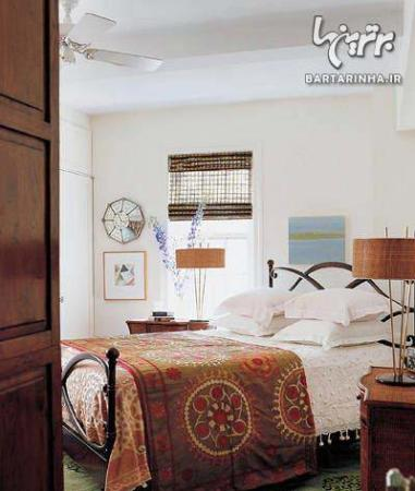 image جدیدترین مدل های دکوراسیون و چیدمان اتاق خواب رنگ روشن ۲۰۱۳
