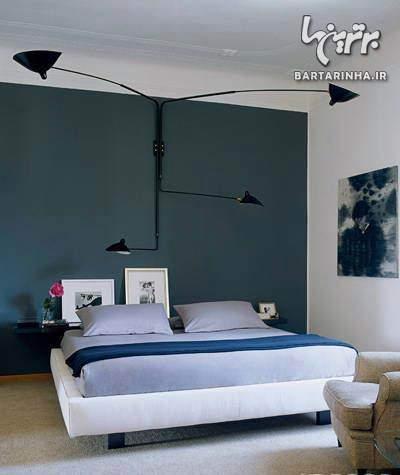 image, جدیدترین مدل های دکوراسیون و چیدمان اتاق خواب رنگ روشن ۲۰۱۳
