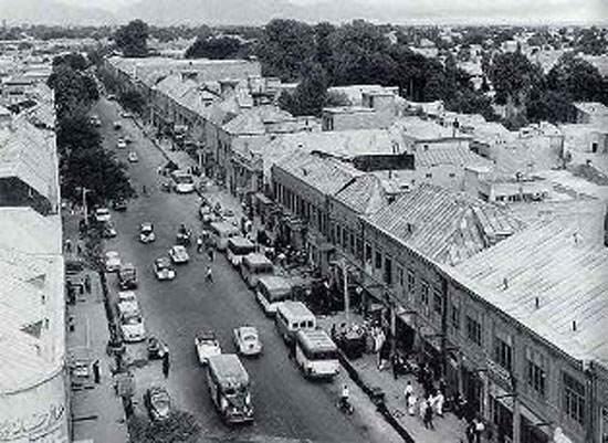 image خیابان باغ جنت یا ولی عصر اولین خیابان ساخته شده در تهران