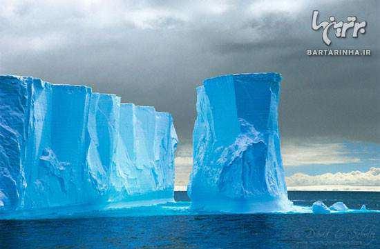 image عکس های زیبا از پنگوئن ها قطب شمال و کوه های یخی
