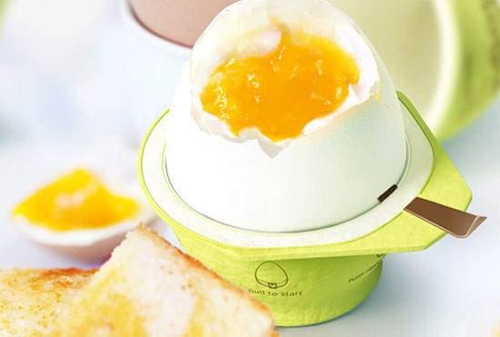 image تکنولوژی جدید آب پز کردن تخم مرغ بدون آب