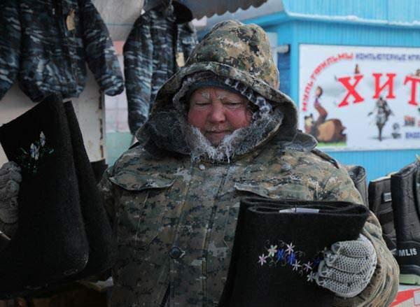 image تصاویری از سرمایی هولناک در کشور روسیه