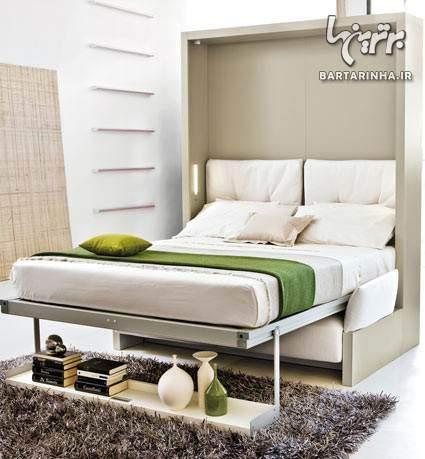 image جدیدترین آموزش دکوراسیون و چیدمان اتاق خواب های کوچک