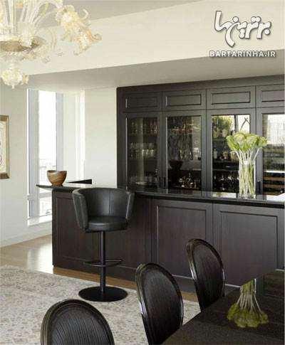 image راهنمای جدید چیدمان و دکوراسیون خانه با ترکیب رنگ مشکی سیاه