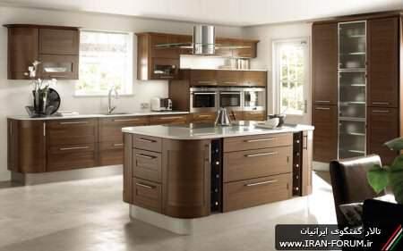 image طرح ها و ایده های نو و جالب برای طراحی کابینت آشپزخانه