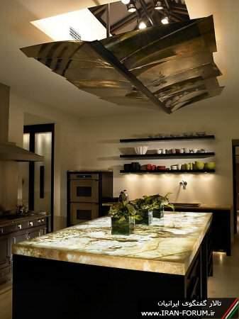 image گالری تصویری چیدمان و تزیینات شیک و مدرن آشپزخانه ای