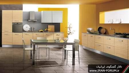 image مدل های جدید و شیک کابینت برای آشپزخانه