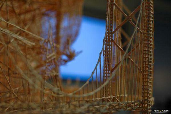image عکس های ماکت شهر سانفرانسیسکو با خلال دندان