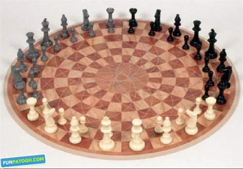 image, شطرنج بازی سه نفره به جای دو نفره! محال یا واقعیت