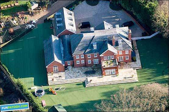 image گزارش تصویری از خانه های مجلل فوتبالیست های انگلیسی