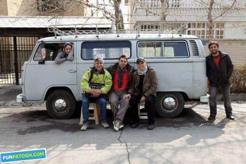 image, عکس پشت صحنه فیلم برف روی کلاغ ها همراه مهناز افشار و پیمان معادی