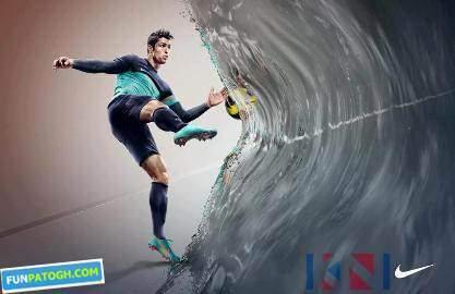 image عکس قرارداد تبلیغاتی کریستیانو رونالدو با کمپانی نایک