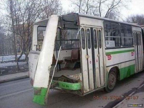 image عکس اتفاقات بامزه در روسیه طنز
