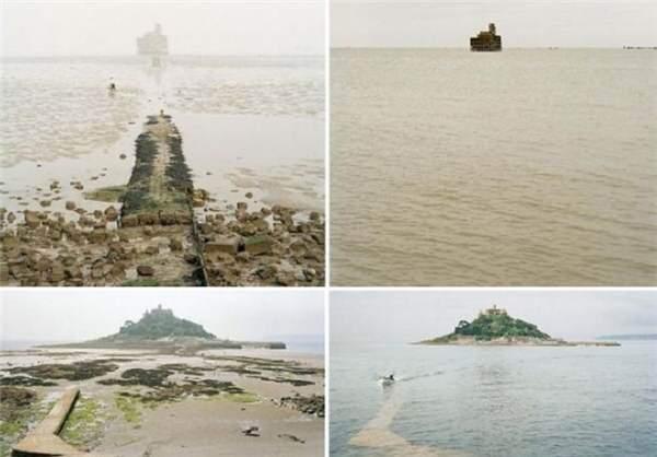 عکس های جزر و مد