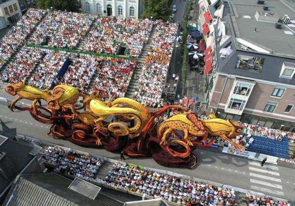 image گزارش تصویری از بزرگترین جشن گلهای جهان در هلند ماه سپتامبر