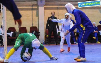 image خبر خوش پیروزی فوتسال بانوان ایران در بازی با ازبکستان