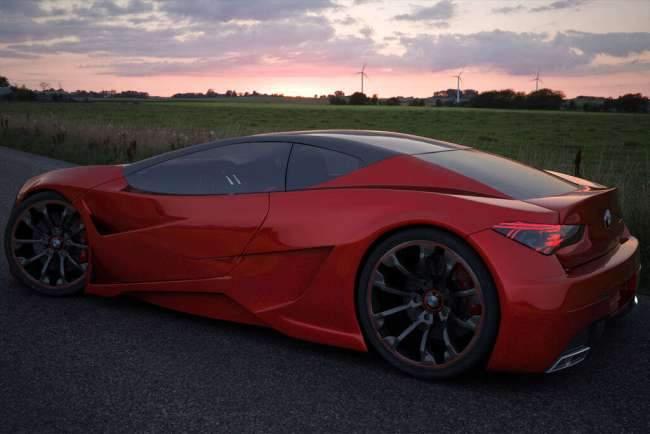 image تصاویر زیبا و استثنائی از ماشین BMW Z10