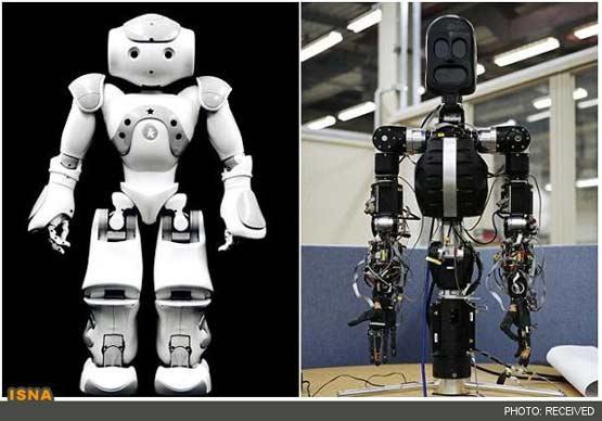 image تصاویر ربات هایی که حرف میزنند و فوتبال بازی میکنند